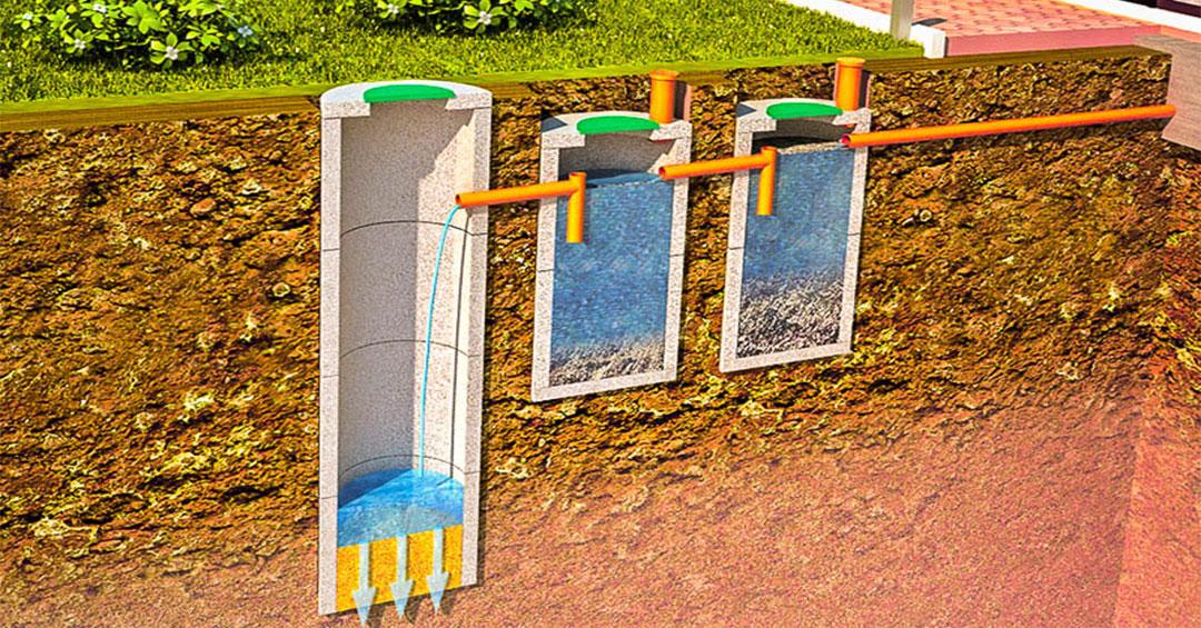 как часто откачивать септик из бетонных колец